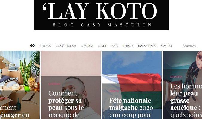 Avis sur Laykoto : Un blog malgache (gasy) tendance à Madagascar